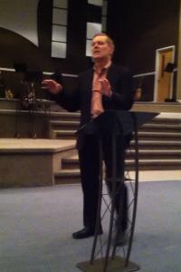 Jim Preaching 1