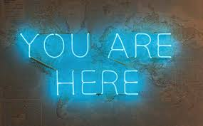 Now you are here