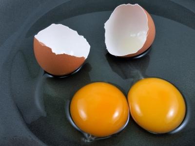 eggs broken