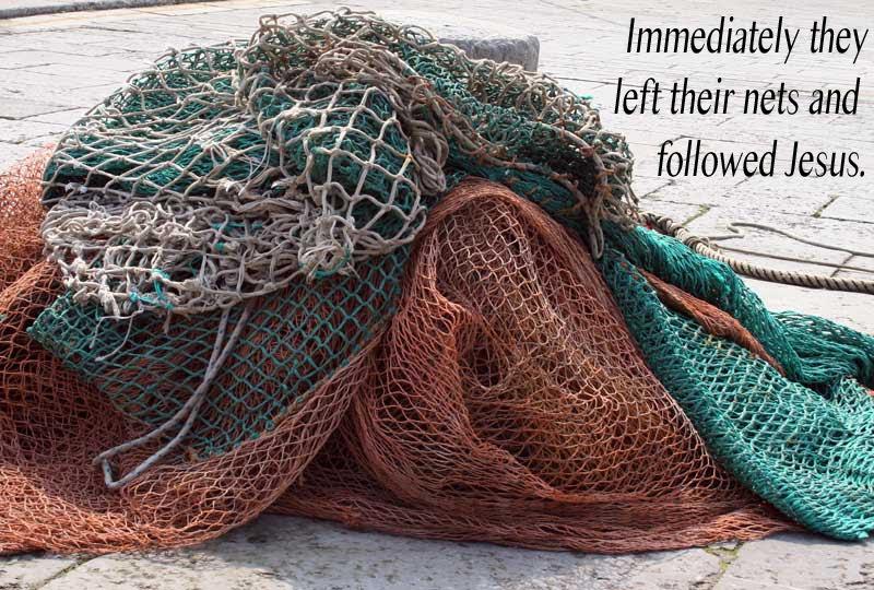 Leaving nets